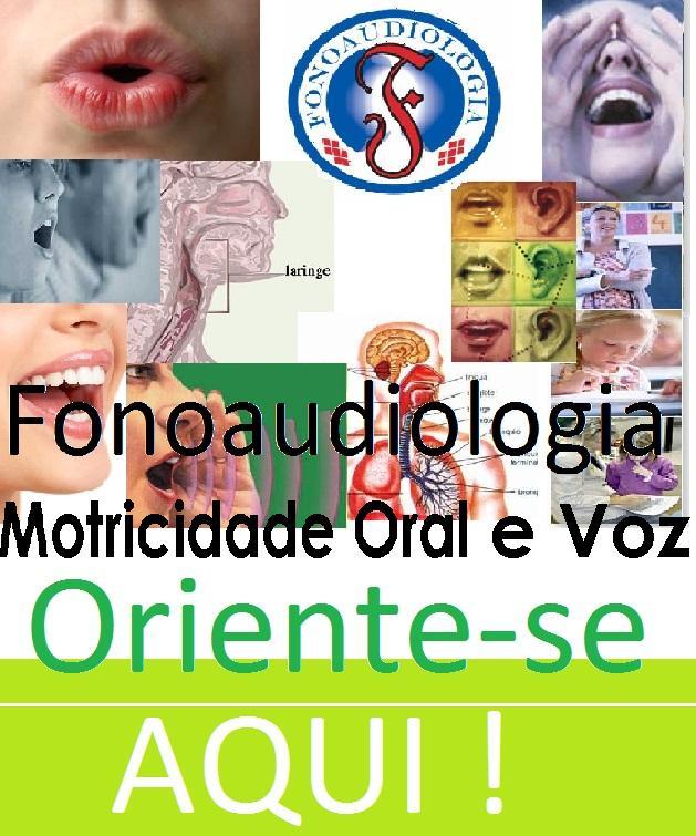Motricidade Oral e Voz.