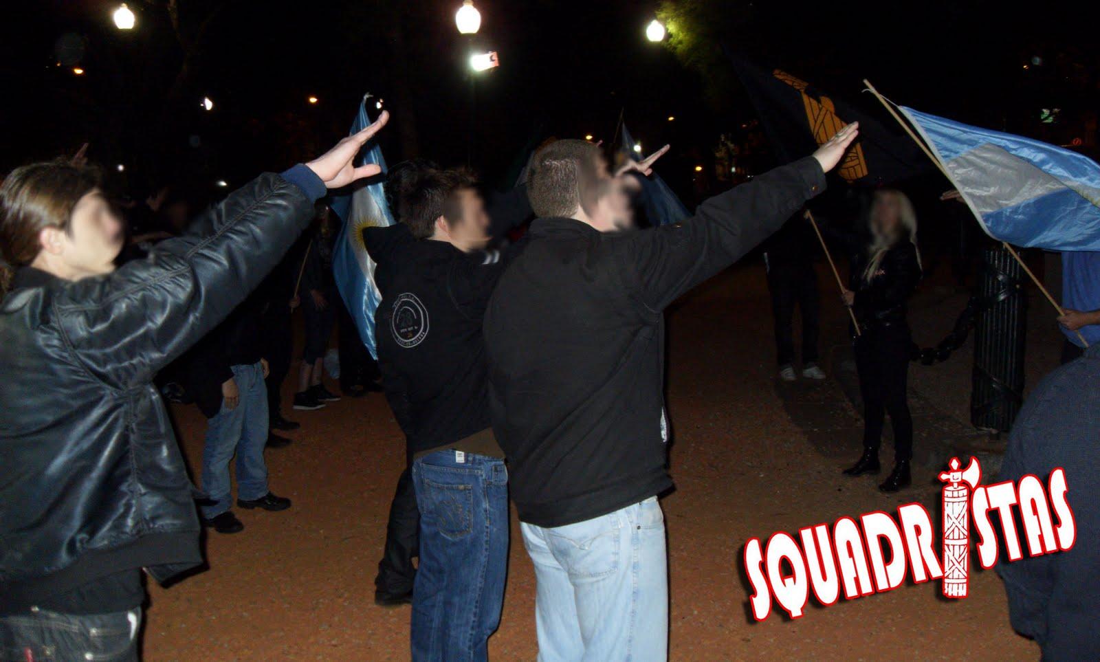 Squadristas en Argentina; nuevos fascistas