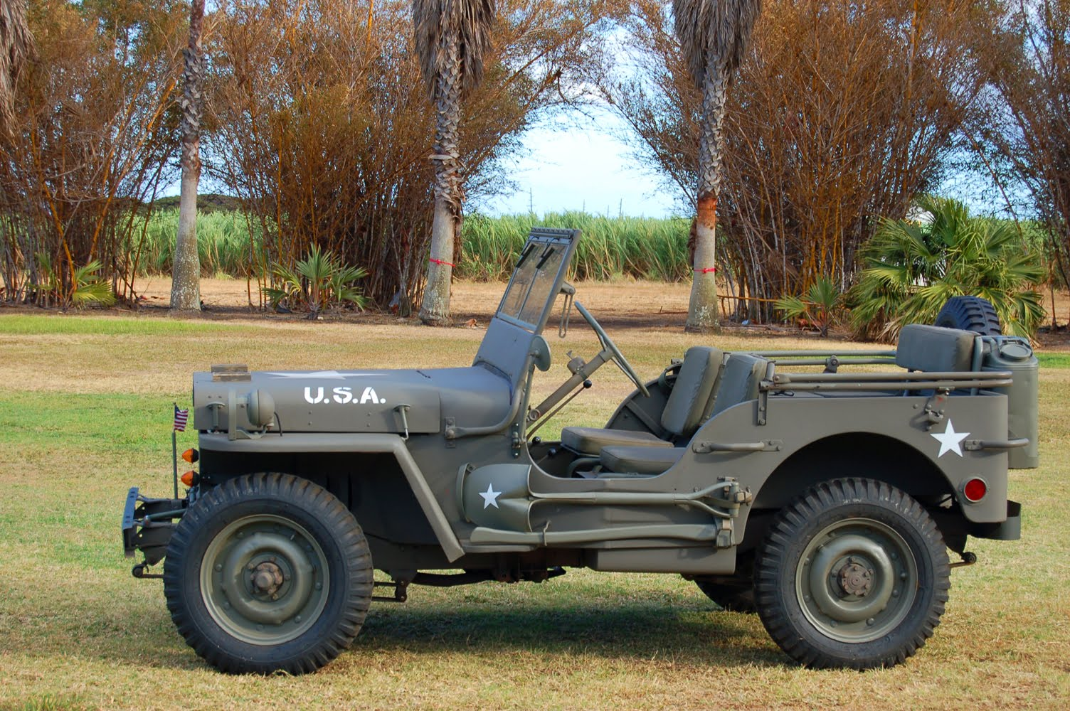 HAFF] The name Jeep came from the abbreviation used in the army for