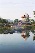Arvari River in Alwar, Rajasthan