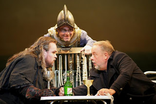 Uusitalo, Conners & Salminen, Dutchman, Photo courtesy Bayerische Staatsoper