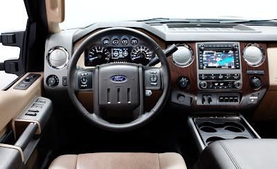 Super Duty: Ford revela imagens e informações da nova F-250 2011