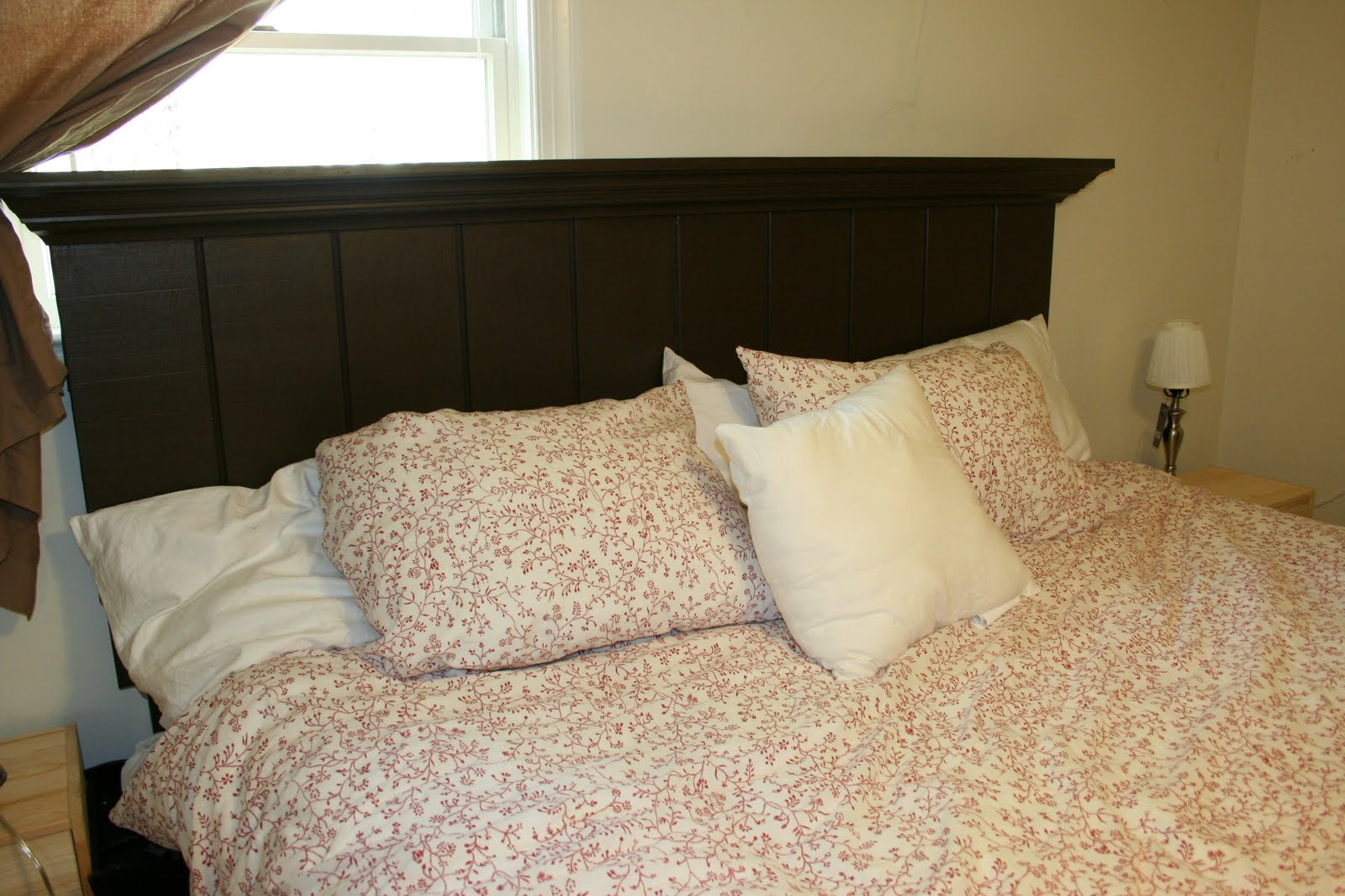 Easy homemade headboards for Makeshift headboard