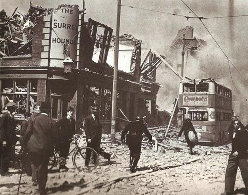 world war 2 bombs in london. London during World War II