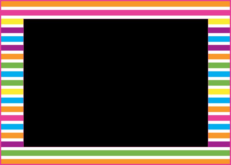 marcos photoscape lineas de colores