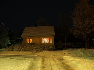 House in winterland