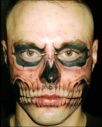 Skull tattoo designs are seen in various genres. This classic tattoo designs