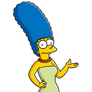 Marge Simpson Playboy Bunny
