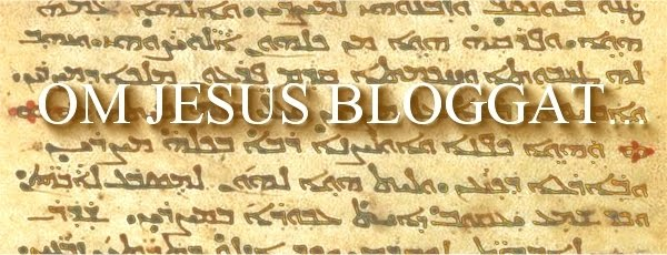 Om Jesus bloggat...