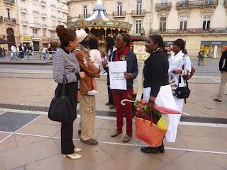 Montpellier : marche contre l'esclavage