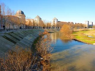 Le Lez à Montpellier, proche de la mairie