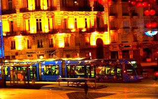 Le tram à Montpellier