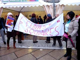 Journée des droits de femme, Montpellier, Comédie