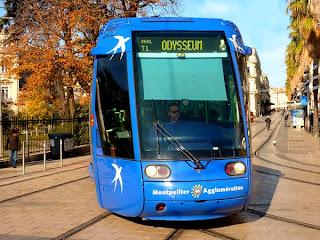 tram à Montpellier