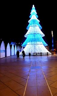 Montpellier, arbre de Noël