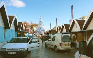 Montpellier, marché de Noël
