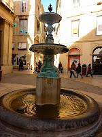 Les fontaines de Montpellier