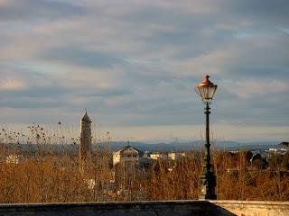 Montpellier, vue du Peyrou