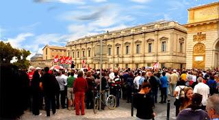 Jour d'action à Montpellier
