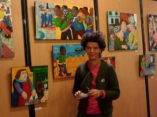 Élan d'Art à Montpellier : Valérie Blanchart