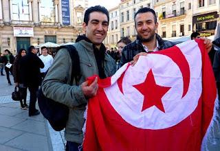 Tunisie - Montpellier : la liberation du peuple