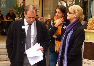 Hélène Mandroux soutient Stéphane Taponier et Hervé Ghesquière