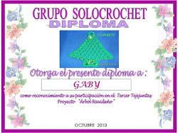 3° Diploma  del tejejuntas