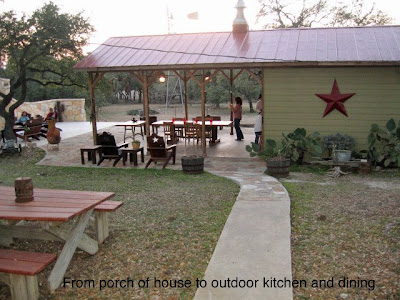 kitchen outdoor texas