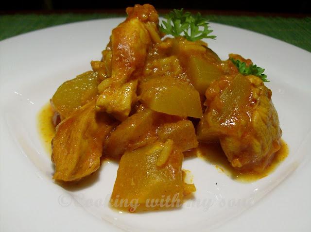 Curry cu dovlecel