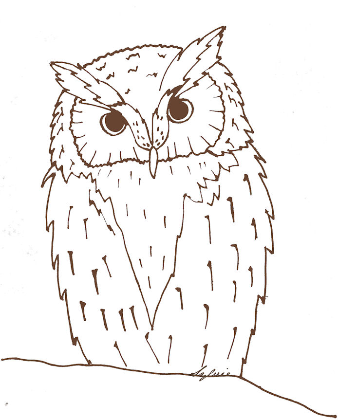 Owl Eye Template Coloring Pages