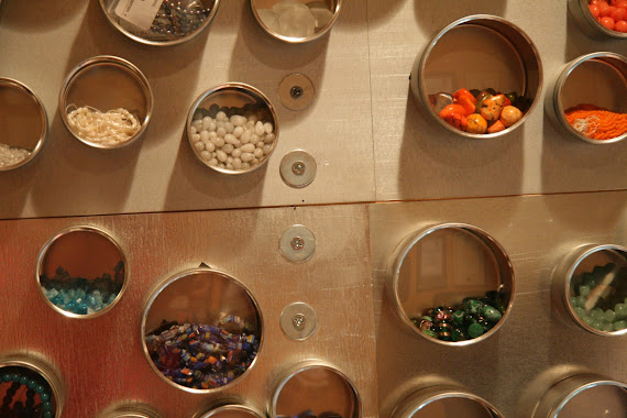 Bead wall storage system