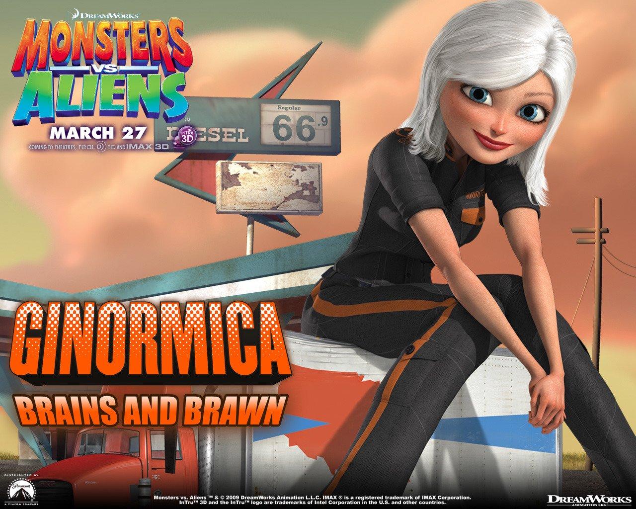 Monsters vs aliens movies