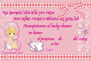 Invitaciones Para Baby Shower Precious Moments And Post