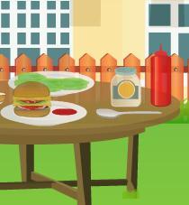 Juegos de aprender a hacer hamburguesas a la brasa - Juegos para aprender a cocinar ...