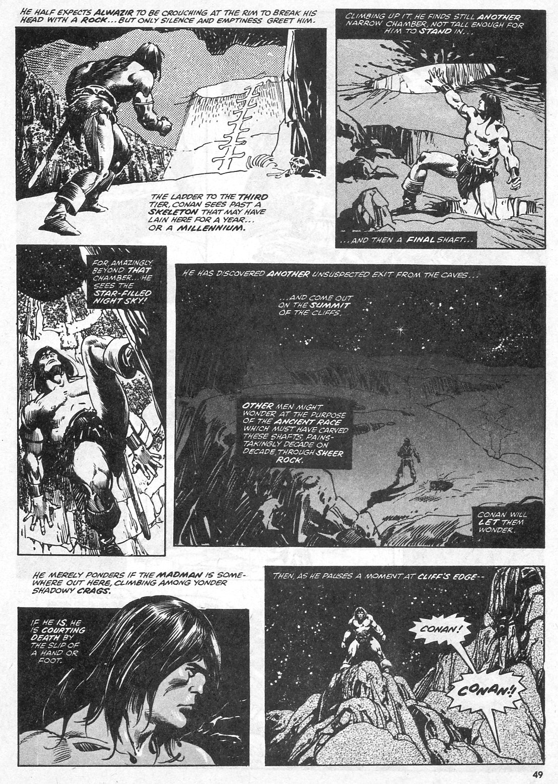 The Savage Sword Of Conan Issue #28 #29 - English 49