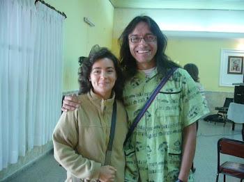 Dr.Lozano y compañera