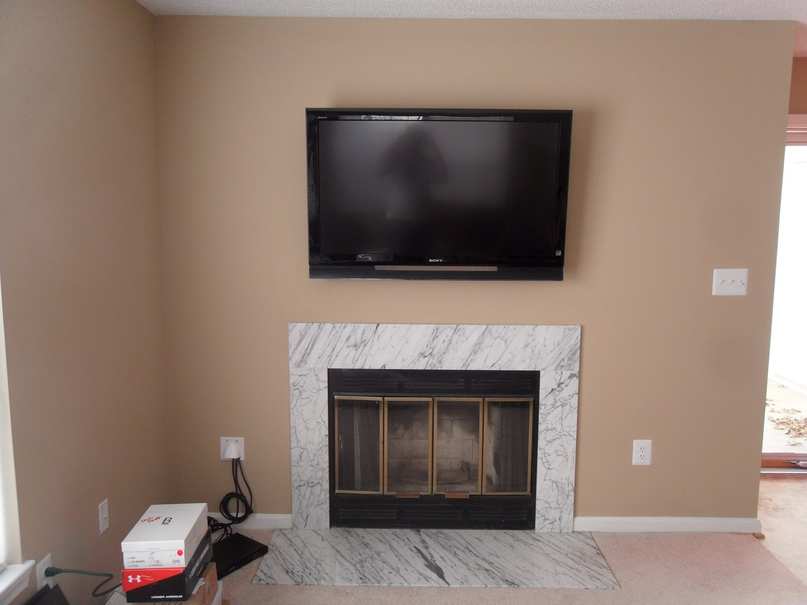 Tv Mounted Over Fireplace 2015 Home Design Ideas