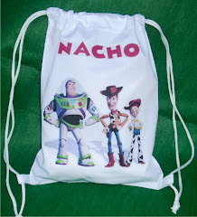 MOCHILITAS TOY STORY