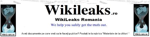 WikiLeaks Romania