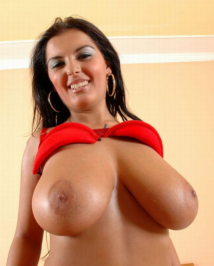 Huge Black Natural Tits 29
