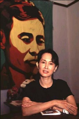 1991 Nobel Peace Award  Winner  ......  Daw Aung San Suu Kyi