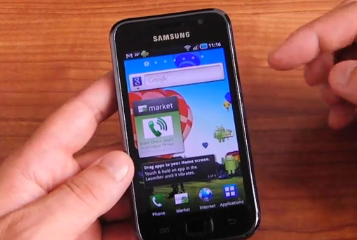 Galaxy S running latest Froyo