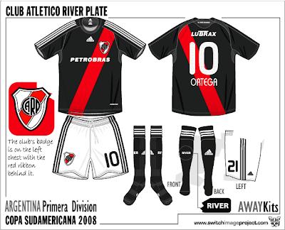 CA River Plate Trikot