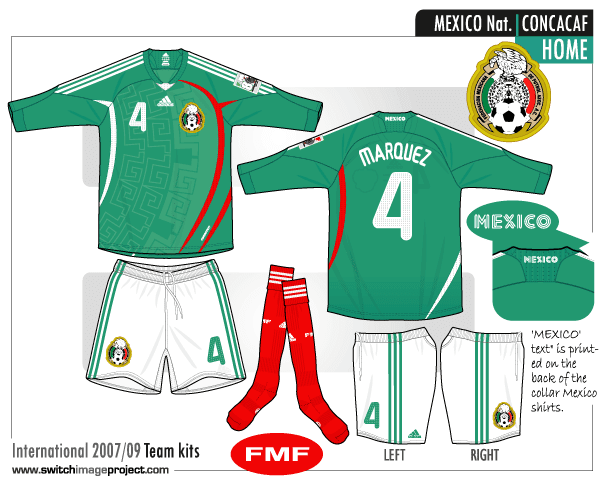 Mexico 2017 kit designs leaked fmf state of mind for Kit homes new mexico