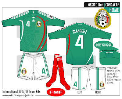 mexico soccer team logo. Mexico soccer team was