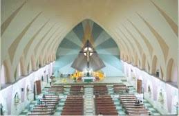 Interior del templo matriz