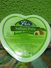 Sabun buah pala
