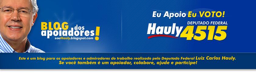 Deputado Federal Hauly 4515 - Eu apoio, Eu VOTO!