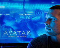 Sam Worthington in Avatar Movie Wallpaper
