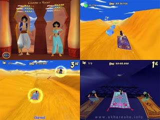 aladdin magic carpet racing